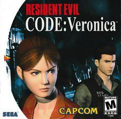 Manual - Front | Resident Evil CODE Veronica Sega Dreamcast