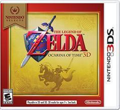 Zelda Ocarina of Time 3D [Nintendo Selects] Cover Art