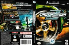 Artwork - Back, Front | Need for Speed Underground 2 Gamecube
