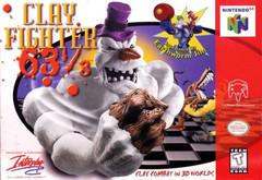 Clay Fighter 63 1/3 Nintendo 64 Prices