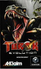 Manual - Front | Turok Evolution Gamecube