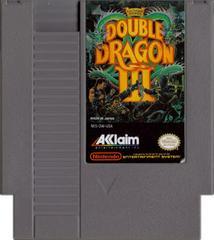 Cartridge | Double Dragon III NES