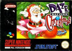 Daze Before Christmas PAL Super Nintendo Prices