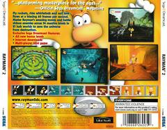 Back Of Case | Rayman 2 The Great Escape Sega Dreamcast