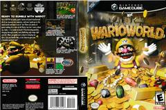 Artwork - Back, Front | Wario World Gamecube