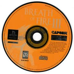Game Disc | Breath of Fire 3 Playstation