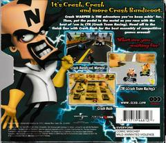 Back Of Box/Slip Cover | Crash Bandicoot Collector's Edition Playstation