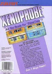 Xenophobe - Back | Xenophobe NES