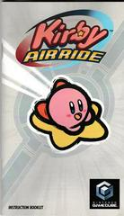 Manual - Front | Kirby Air Ride Gamecube
