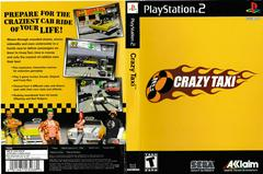Artwork - Back, Front | Crazy Taxi Playstation 2