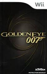 007 GoldenEye - Instructions | 007 GoldenEye Wii