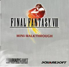 Manual - Mini-Walkthrough | Final Fantasy VIII [Greatest Hits] Playstation