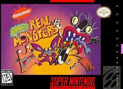 AAAHH Real Monsters Super Nintendo Prices