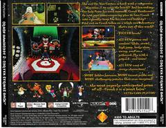 Back Of Case | Crash Bandicoot 2 Cortex Strikes Back Playstation