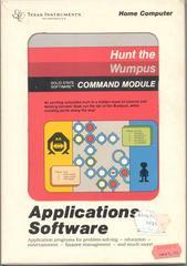 Hunt The Wumpus TI-99 Prices