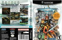 Artwork - Back, Front | Phantasy Star Online Gamecube