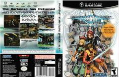 Artwork - Back, Front | Phantasy Star Online Episode I & II Gamecube