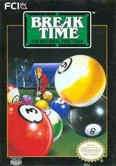 Break Time - Front | Break Time The National Pool Tour NES