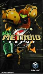 Manual - Front | Metroid Prime Gamecube