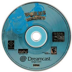 Game Disc | Worms World Party Sega Dreamcast