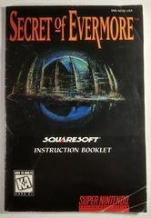 Manual | Secret of Evermore Super Nintendo
