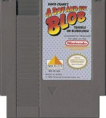 Cartridge | A Boy and His Blob Trouble on Blobolonia NES