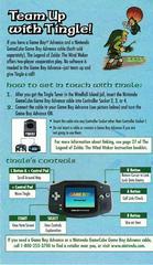 Tingle'S Talents Insert | Zelda Wind Waker Gamecube