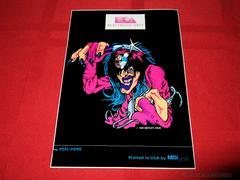Crüe Ball Allister Fiend Sticker (VGO) | Crue Ball Sega Genesis