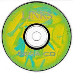 Game Disc   Links The Challenge of Golf Sega CD
