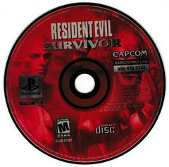 Game Disc | Resident Evil Survivor Playstation