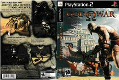 Artwork - Back, Front | God of War Playstation 2