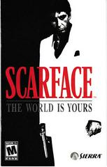 Manual - Front | Scarface the World is Yours Playstation 2