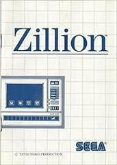 Zillion - Instructions | Zillion Sega Master System