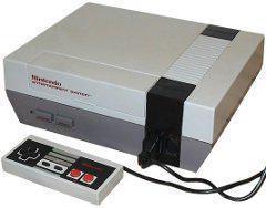 Nintendo NES Console Cover Art