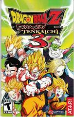Manual - Front | Dragon Ball Z Budokai Tenkaichi 3 Playstation 2