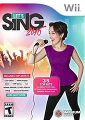 Let's Sing 2016 Wii Prices