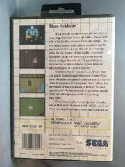 Back Of Case | Time Soldiers Sega Master System