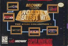 Arcade's Greatest Hits Atari Collection 1 Super Nintendo Prices