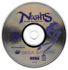 Game Disc | Nights into Dreams Sega Saturn