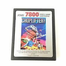 Choplifter - Cartridge | Choplifter Atari 7800