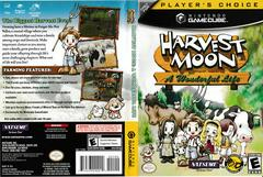 Artwork - Back, Front (Players Choice) | Harvest Moon A Wonderful Life Gamecube