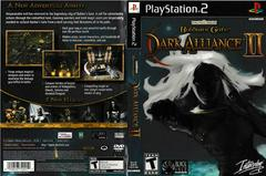 Artwork - Back, Front | Baldur's Gate Dark Alliance 2 Playstation 2