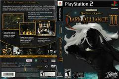 Artwork - Back, Front | Baldur's Gate Dark Alliance 2 Playstation 2