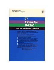 TI Extended Basic TI-99 Prices
