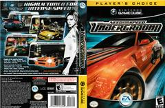 Artwork - Back, Front (Players Choice) | Need for Speed Underground Gamecube