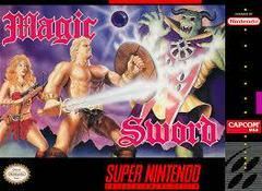 Magic Sword - Front   Magic Sword Super Nintendo