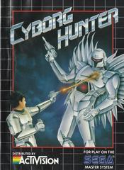 Cyborg Hunter - Front | Cyborg Hunter Sega Master System