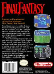Final Fantasy - Back | Final Fantasy NES