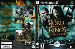 Artwork - Back, Front | Lord of the Rings Two Towers Playstation 2