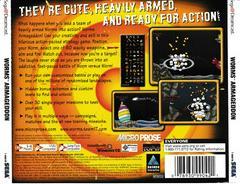 Back Of Case | Worms Armageddon Sega Dreamcast